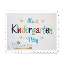 Kindergarten Thing Satin (5x7)