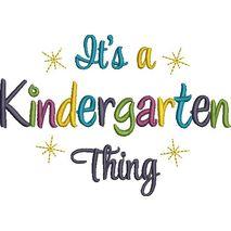 Kindergarten Thing Satin (5x7) Snap Shot