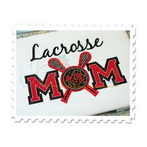 Lacrosse MOM Applique