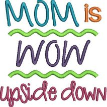 MOM is WOW upside down (Snap Shot)