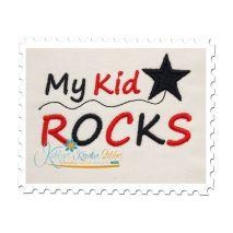My Kid Rocks Satin 4x4