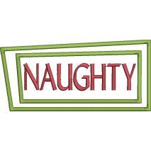 Naughty Applique Box Snap Shot