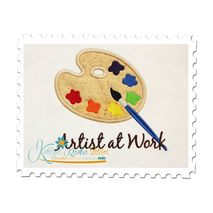 Painters Palette Applique