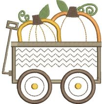 Pumpkin Patch Applique Snap Shot