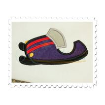 Snowmobile Applique