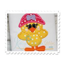 Spring Chick Applique