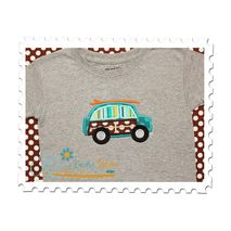 Surfer Boy Car Applique