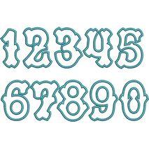 Tagliato Applique Numbers Snap Shot