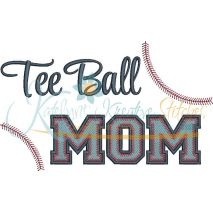 Tee Ball MOM Filled Snap Shot (Numbers not included)