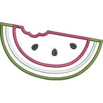 Watermelon Applique Snap Shot