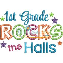 1st Grade Rocks the Halls Snap Shot