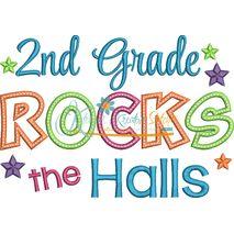 2nd Grade Rocks the Halls Snap Shot
