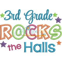 3rd Grade Rocks the Halls Snap Shot