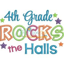 4th Grade Rocks the Halls Snap Shot