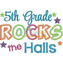 5th Grade Rocks the Halls Snap Shot