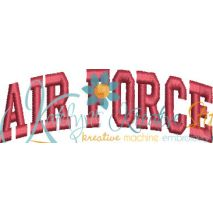 Air Force Arched 4x4 Satin Snap Shot