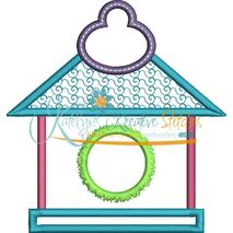 Bird House Applique