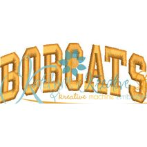 Bobcats Arched 4x4 Satin Snap Shot