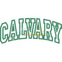 Calvary Arched Applique Snap Shot