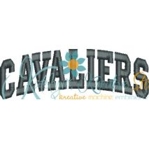 Cavaliers Arched 4x4 Satin Snap Shot