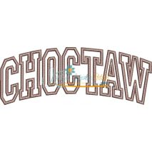 Choctaw Arched Applique Snap Shot