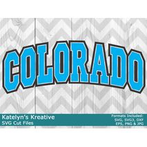Colorado Arched SVG