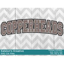 Cooperheads Arched SVG