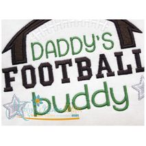 Daddy's Football Buddy Close Up