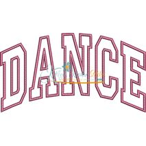 Dance Arched Applique Snap Shot