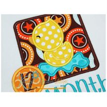 Duck Applique Frame Close Up