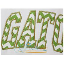 Gators Arched Applique Close Up