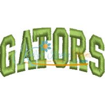 Gators Arched 4x4 Satin Snap Shot