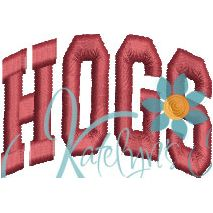 Hogs Arched 4x4 Satin Snap Shot