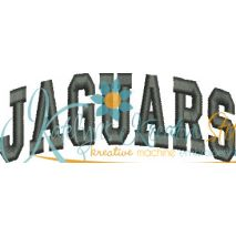Jaguars Arched 4x4 Satin Snap Shot