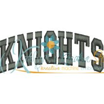 Knights Arched 4x4 Satin Snap Shot