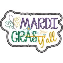 Mardi Gras Y'all Snap Shot