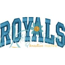 Royals Arched 4x4 Satin Snap Shot