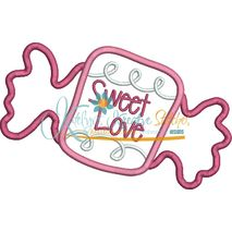 Sweet Love Wrapper Applique Snap Shot