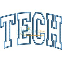Tech Arched Applique Snap Shot