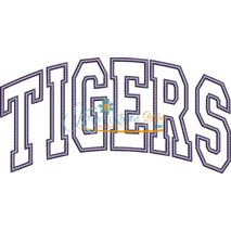 Tigers Arched Applique Snap Shot
