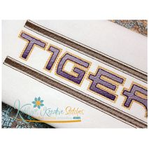 Tigers Kreative Text Close Up