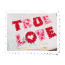 True Love Applique