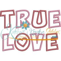 True Love Applique Snap Shot