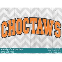 Choctaws Arched SVG