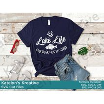 Lake Life SVG