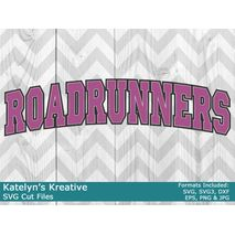 Roadrunners Arched SVG