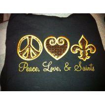 Peace Love Fleur de Lis 2