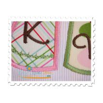 Clothesline Applique Close Up 1