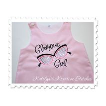 Glamour Girl Applique