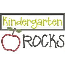 Kindergarten Rocks Snap Shot